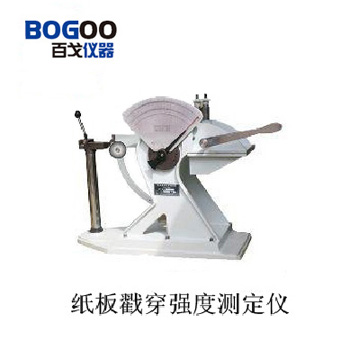 供应山东纸板戳穿强度测定仪厂家(百戈仪器)(图)