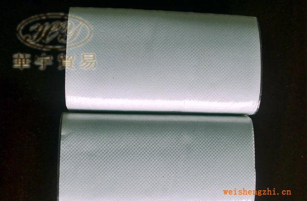 供应40g单层生活用纸白色再生浆V折擦手纸