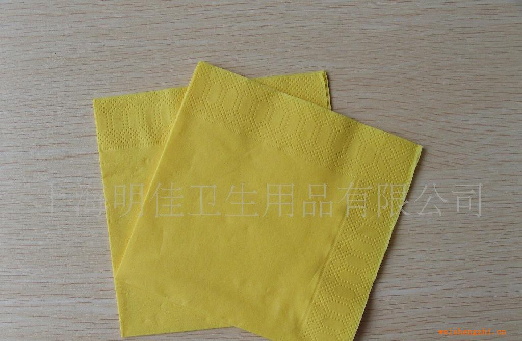 促销各种规格和颜色进口彩色餐巾纸口布彩色纸