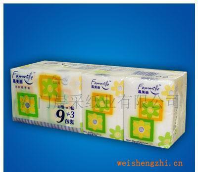 供应原木浆迷你型3层压花手帕纸(订牌纸巾)Hankies纸手帕纸巾