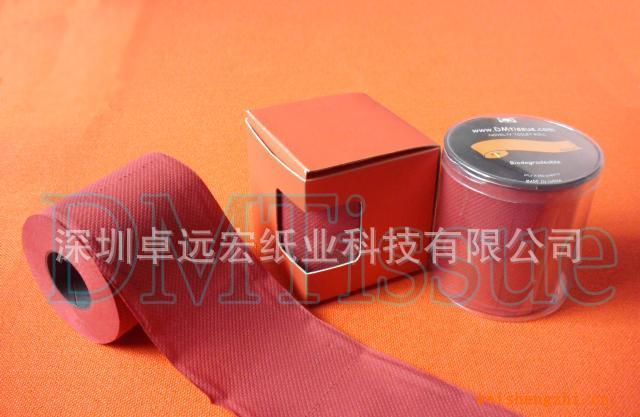 新颖彩色卫生纸/染色卫生纸/紫色卫生纸