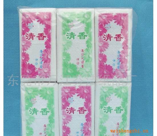 【厂家直销】供应清香手帕纸巾288包