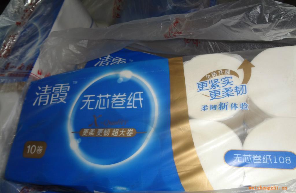 【安徽纸巾厂家】常年供应清霞系列木浆双层卷筒纸可定制