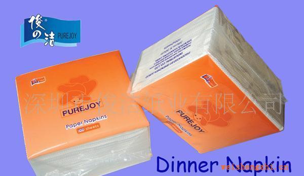 供应340木浆餐巾纸