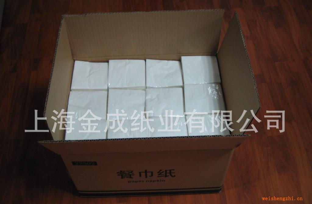 上海厂家批发400双层优质餐巾纸、纸巾、面纸、抽纸
