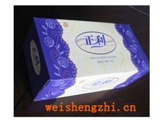 山东青岛正利纸业有限公司|青岛广告盒抽面巾纸|150抽软抽