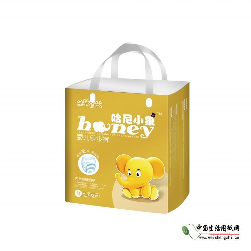 江西哈尼小象纸尿裤供应|哈尼小象乐步裤L20片