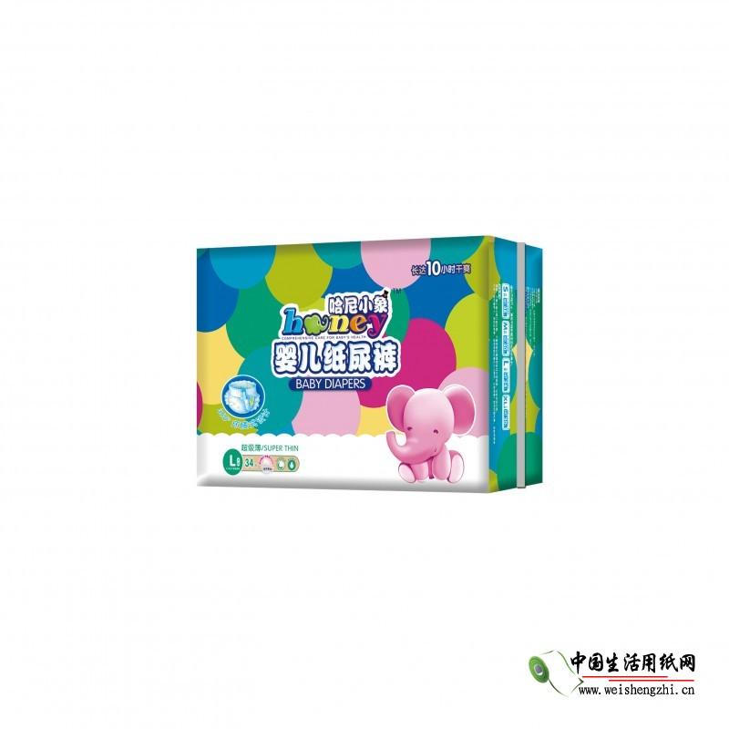 江西哈尼小象实业有限公司 江西纸尿裤生产厂家供应
