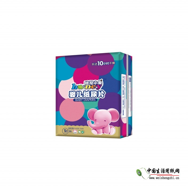 哈尼小象超级薄纸尿片XL-32片