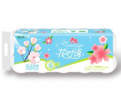唐山卫生纸|唐山卫生纸厂家|唐山消毒纸巾|花时雨08