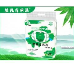 四川竹浆纸纸品牌厂家代理招商望风青苹果20卷装