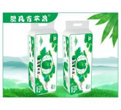 竹浆卫生纸厂家望风青苹果实惠棒子10卷招卫生纸代理