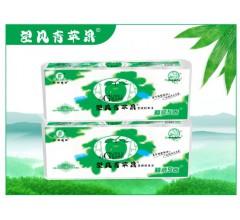 竹浆纸望风青苹果卫生纸厂家精装5卷招卫生纸代理