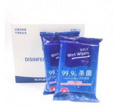 极简净消毒湿巾厂家直销一次性小包便携式10片装杀菌清洁湿巾纸