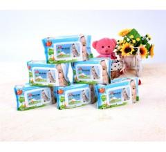 婴儿湿巾宝宝手口屁专用新生幼儿湿纸巾80抽大包厂家直销
