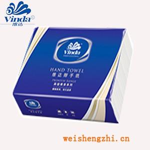 天津擦手纸厂家 北京擦手纸 维达商用三折擦手纸200张