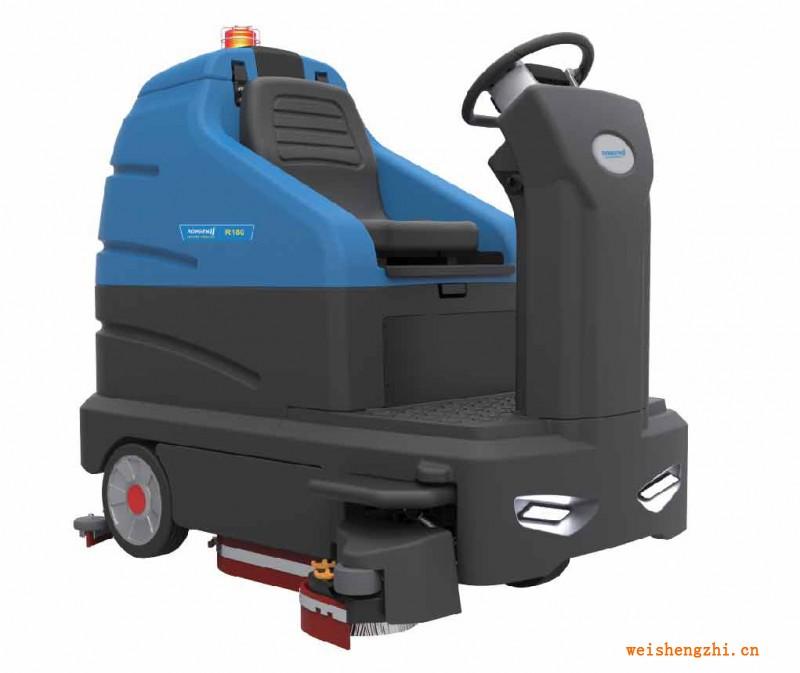 天津清洁设备 R180 大型驾驶式洗地机
